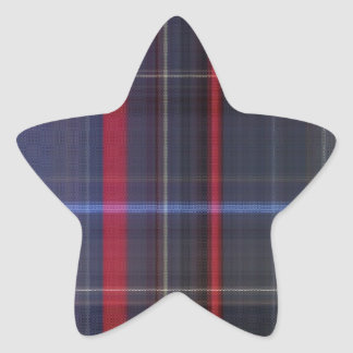 Ralphies Favorite Plaid Star Sticker