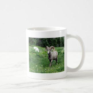 Ram and Mountain Goat Mugs