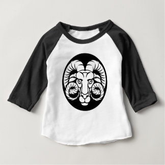 Ram Aries Zodiac Sign Baby T-Shirt
