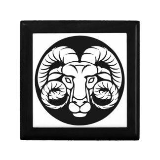 Ram Aries Zodiac Sign Gift Box