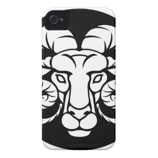 Ram Aries Zodiac Sign iPhone 4 Cases