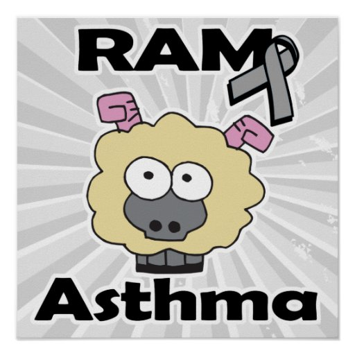RAM Asthma Print