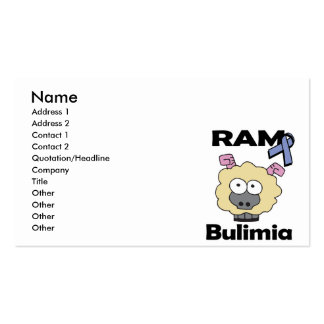 RAM Bulimia Pack Of Standard Business Cards