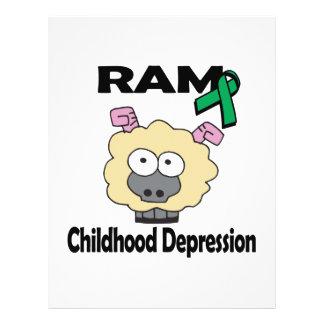 RAM Childhood Depression 21.5 Cm X 28 Cm Flyer