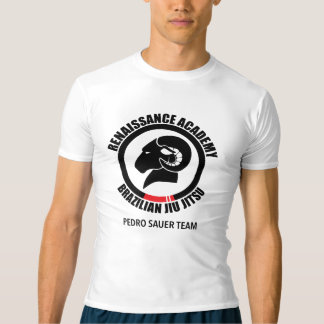 RAM Compression Top/Rash Guard, BJJ Logo T-Shirt