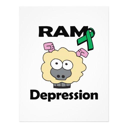 RAM Depression Full Color Flyer