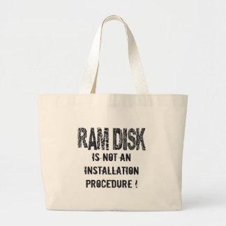 Ram Disk Tote Bags