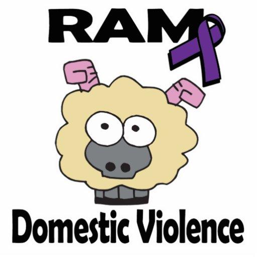 RAM Domestic Violence Acrylic Cut Outs