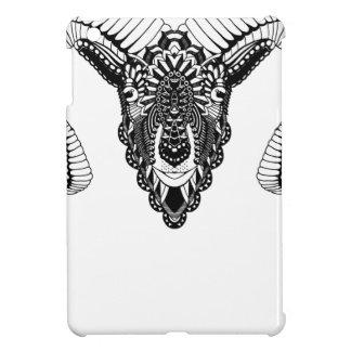 Ram drawing mandala style iPad mini covers