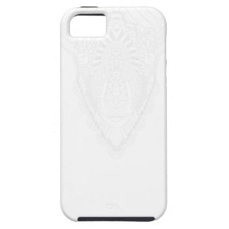 Ram drawing mandala style white iPhone 5 cover