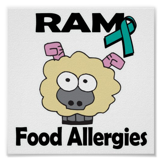 RAM Food Allergies Poster