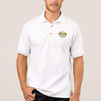 Ram Head Celtic Knot Polo Shirt