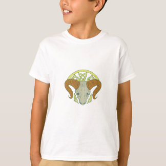 Ram Head Celtic Knot T-Shirt