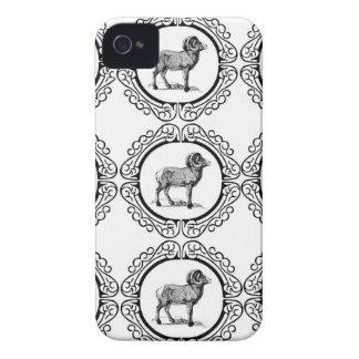 ram in a round iPhone 4 Case-Mate case