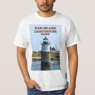 Ram Island Lighthouse, Maine T-Shirt
