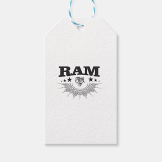 ram of the black star gift tags