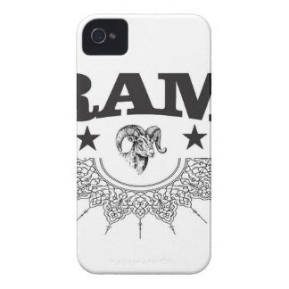 ram of the black star iPhone 4 Case-Mate case