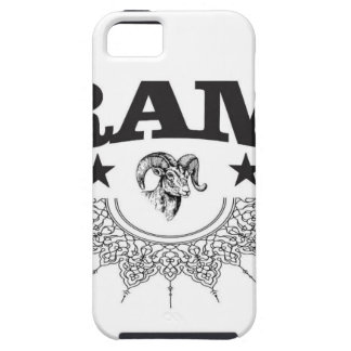 ram of the black star iPhone 5 cover