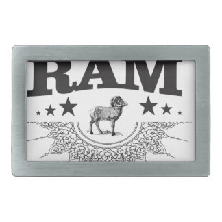 ram of the sheep belt buckle