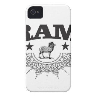 ram of the sheep iPhone 4 Case-Mate case