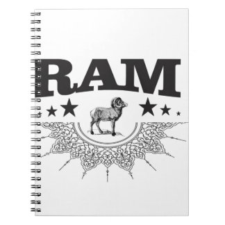 ram of the sheep notebook