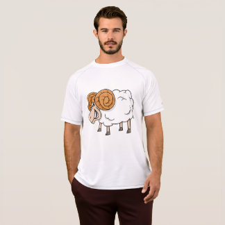 Ram Sheep Mens Active Tee
