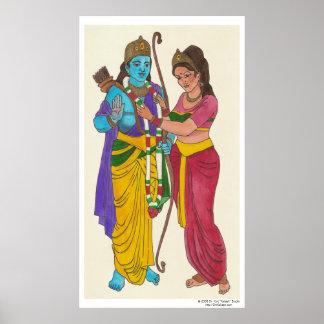 Ram & Sita Poster