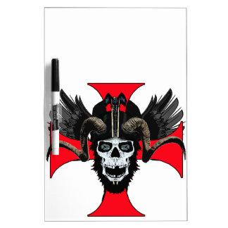 Ram skull 3 tw dry erase board