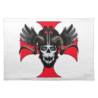 Ram skull 3 tw placemat