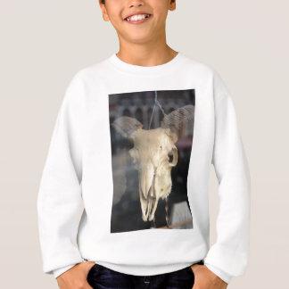 ram skull cool sweatshirt