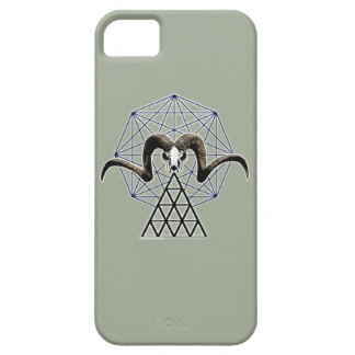 Ram skull sacred geometry case for the iPhone 5