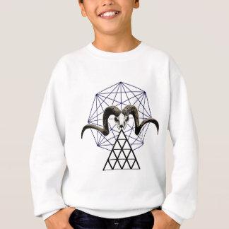Ram skull sacred geometry sweatshirt