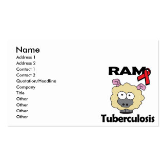 RAM Tuberculosis Pack Of Standard Business Cards
