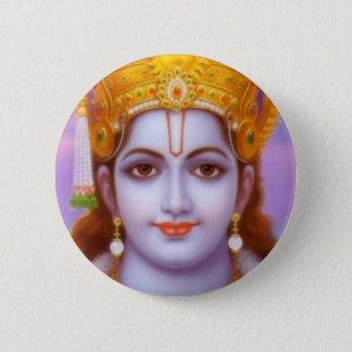rama god 6 cm round badge