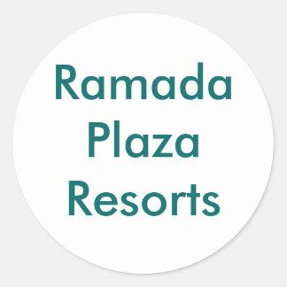 Ramada Plaza Resorts | Ramada | Plaza | Resorts Round Sticker