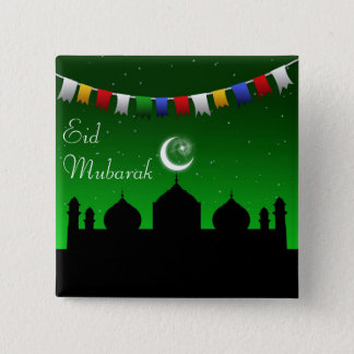 Ramadan Eid Garland - Islamic Button
