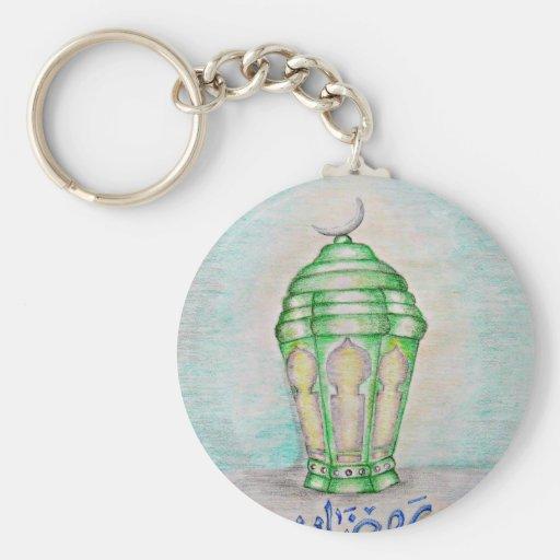 Ramadan lantern key chains