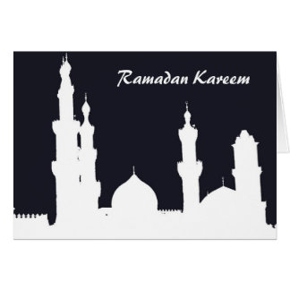 Ramadan Mosque Black Card