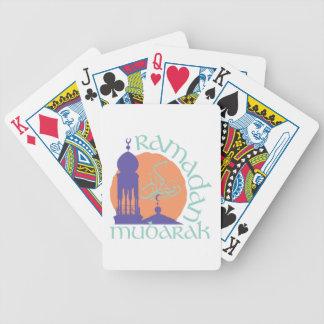 Ramadan Mubarak Bicycle Playing Cards