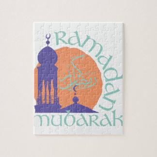 Ramadan Mubarak Jigsaw Puzzle