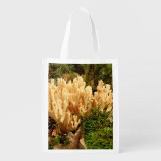Ramaria stricta Fungi Reusable Bag