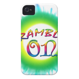 Ramble On iPhone 4 Case-Mate Cases