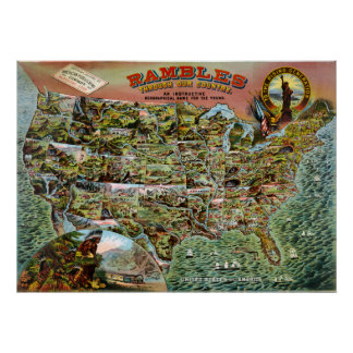 Rambles through our Country Poster
