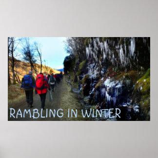 rambling in winter poster