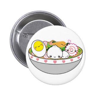 ramen 6 cm round badge