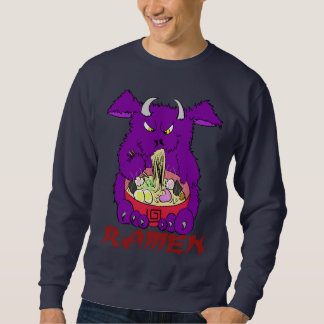 ramen monster sweatshirt