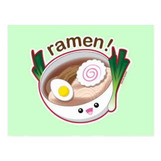 Ramen! Postcard