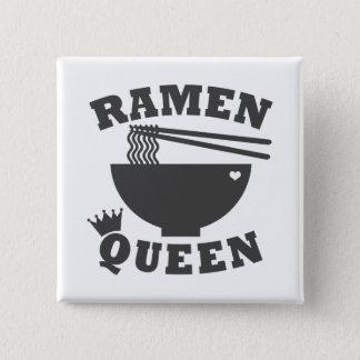 Ramen Queen 15 Cm Square Badge