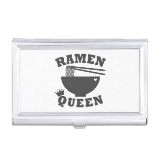 Ramen Queen Business Card Holder