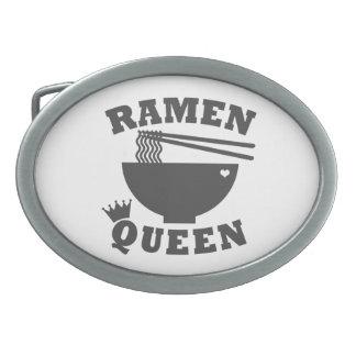Ramen Queen Oval Belt Buckle